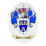 Van der Brug Oval Ornament
