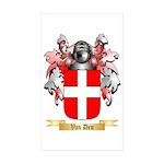 Van Den Sticker (Rectangle 50 pk)
