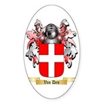 Van Den Sticker (Oval)