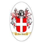 Van Den Sticker (Oval 50 pk)