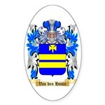 Van den Houte Sticker (Oval)