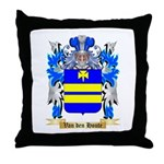 Van den Houte Throw Pillow
