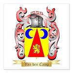 Van den Camp Square Car Magnet 3