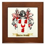 Van den Brinck Framed Tile