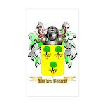 Van den Bogarde Sticker (Rectangle 10 pk)