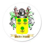 Van Den Bogaert Round Car Magnet