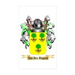 Van Den Bogaert Sticker (Rectangle 50 pk)