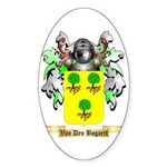 Van Den Bogaert Sticker (Oval)