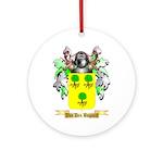 Van Den Bogaert Round Ornament
