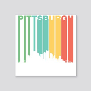 Vintage Pittsburgh Cityscape Sticker