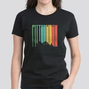 Vintage Pittsburgh Cityscape T-Shirt