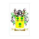 Van den Bogaarde Sticker (Rectangle)