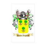 Van den Bogaarde Sticker (Rectangle 50 pk)