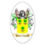 Van den Bogaarde Sticker (Oval)