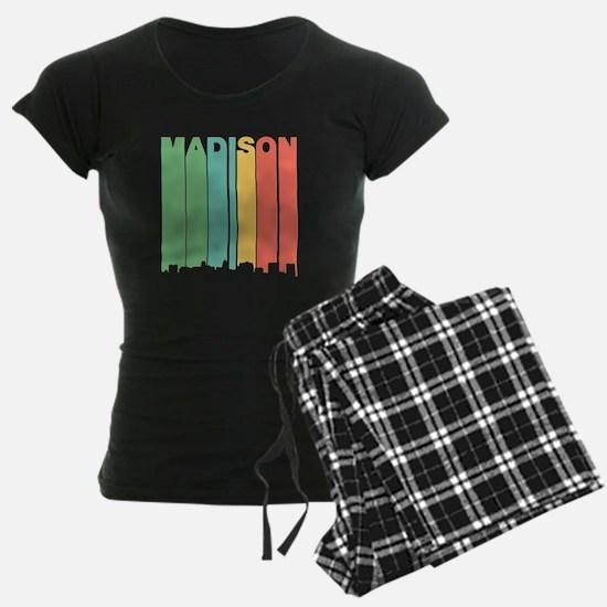 Vintage Madison Cityscape Pajamas