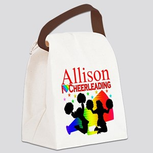 CUSTOM CHEERING Canvas Lunch Bag
