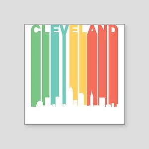 Vintage Cleveland Cityscape Sticker