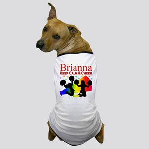 CUSTOM CHEERING Dog T-Shirt