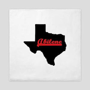 Abilene Texas Queen Duvet