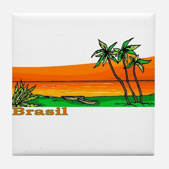 Brasil Tile Coaster