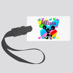 CUSTOM CHEERING Large Luggage Tag