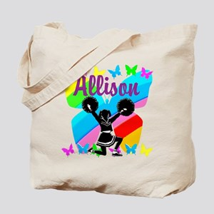 CUSTOM CHEERING Tote Bag