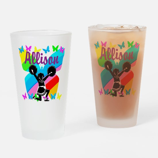 CUSTOM CHEERING Drinking Glass
