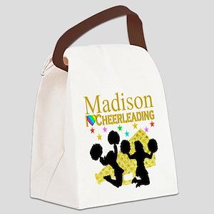 CUSTOM CHEERING Canvas Lunch Bag