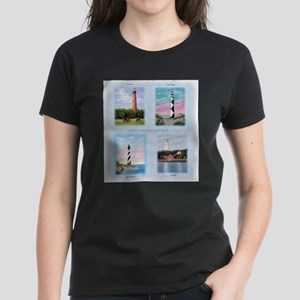Lighthouses Outer Banks tall T-Shirt