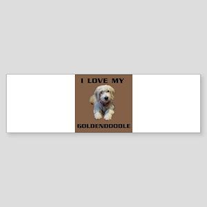 GOLDENDOODLE Bumper Sticker