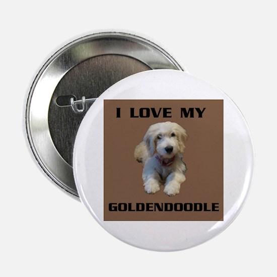 """GOLDENDOODLE 2.25"""" Button"""