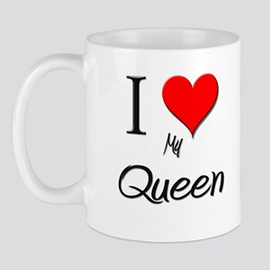 I Love My Queen Mug