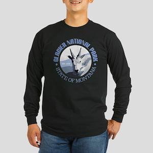 Glacier National Park (goat) Long Sleeve T-Shirt