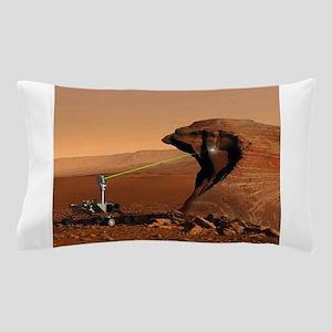 Mars Rover Laser Pillow Case