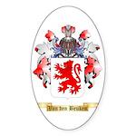 Van den Beuken Sticker (Oval 50 pk)
