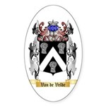 Van de Velde Sticker (Oval)