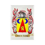 Van de Kamp Rectangle Magnet (100 pack)