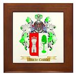 Van de Castele Framed Tile