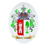 Van de Castele Oval Ornament