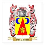 Van Campen Square Car Magnet 3