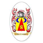 Van Campen Sticker (Oval 50 pk)
