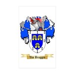 Van Bruggen Sticker (Rectangle 10 pk)