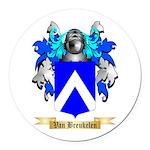Van Breukelen Round Car Magnet