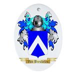 Van Breukelen Oval Ornament