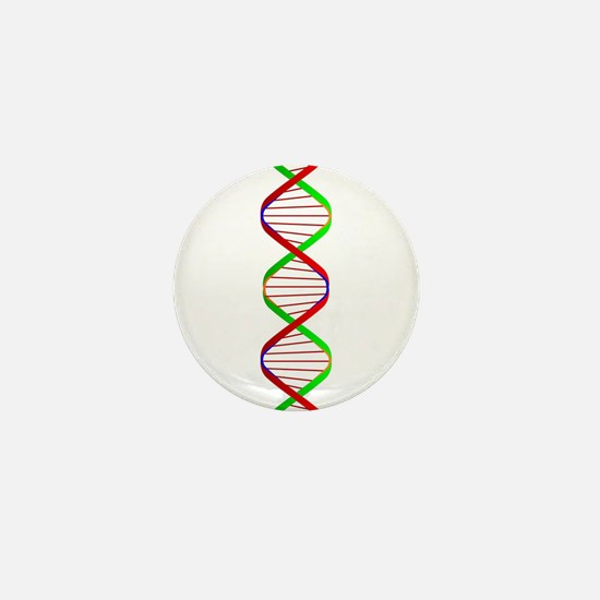 DNA Twin Spiral Mini Button