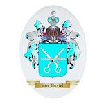 van Boxtel Oval Ornament