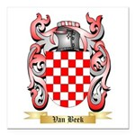 Van Beek Square Car Magnet 3