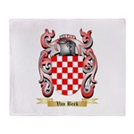 Van Beek Throw Blanket