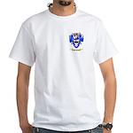 Van Baren White T-Shirt