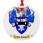 Van Baren Round Ornament